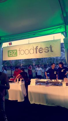 Kitchen Millie got to take part in the ez foodfest this year alongside some other great local Boston catering!