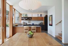 cocinas modernas suelo concreto muebles