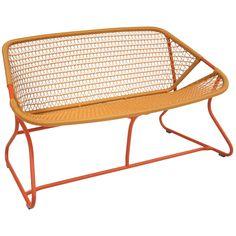 Sixties benk, paprika i gruppen Rom / Utendørs / Utendørsmøbler hos ROOM21.no (132709)
