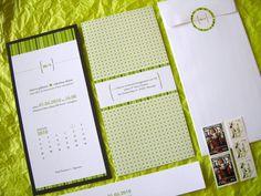 spring green wedding invitation suite 500x375 Valentina + Marcos Ireland Inspired Italian Wedding Invitations