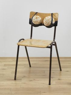 Sarah Lucas - Cigarette Tits [Idealized Smokers Chest II] 1999