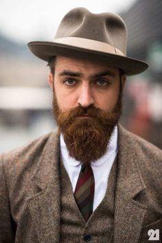 classy beard Long Beard Styles, Beard Styles For Men, Hair And Beard Styles, Hair Styles, Sexy Beard, Epic Beard, Hipsters, Growing A Full Beard, Style Brut