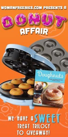 Win this prize pack and you'll have your very own #donut maker, #recipe book and donut pan! Mmmm Donuts! #Giveaway https://www.facebook.com/pages/Cheap-Eats/366532283435610?id=366532283435610=app_850384541715778