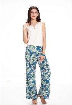 A personal favorite from my Etsy shop https://www.etsy.com/listing/232418291/tropical-flower-loose-pants-blue