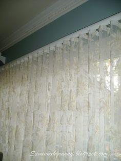 Savannah Granny: Ripplefold Curtains Tutorial, Pin It!