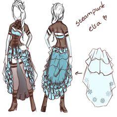 steampunk elsa concept by lfijlstra.deviantart.com on @deviantART