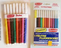 Les fournitures scolaires des années 70-80 par Nath-Didile - Les petits dossiers des Copains d'abord