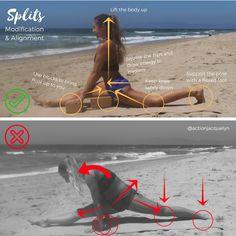 splits modification