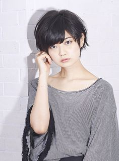 大人のショートボブ!耳かけスタイル◎ 【PHASE】 http://beautynavi.woman.excite.co.jp/salon/8102?pint ≪ #shorthair #shortstyle #shorthairstyle #hairstyle・ショート・ヘアスタイル・髪形・髪型≫