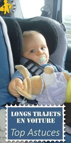 En voiture en famille: astuces pour gérer les longs voyages en voiture avec de jeunes enfants et bébé