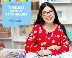 Timeless Layout Techniques with Shimelle Laine Craft Projects For Adults, Diy Projects, Scrapbook Box, Handmade Journals, American Crafts, Layout Design, Fun Crafts, Cardmaking, Floral Tops