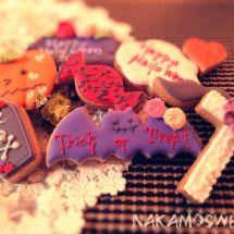 Halloween アイシングクッキー icing cookies ハロウィン