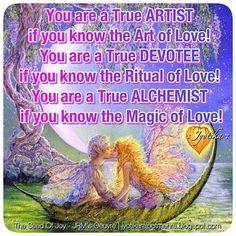 """You are a True ARTIST if you know the Art of Love!You are a True DEVOTEE if you know the Ritual of Love!You are a True ALCHEMIST  if you know the Magic of Love!"" ❤️😍🤗©Jyotika Rajput Mehra Quotes | The Seed Of Joy - JRMs Oeuvre | jyotikarajputmehra.blogspot.com #iamjyotika #quotesbyjyotika #theseedofjoy #quotes #quotesgram #quotesandsayings #quotesaboutlove #lovequotes #quotegasm #instapoetry #poetrycommunity #instapoetess #loveismagical #love"