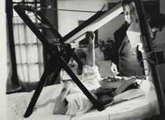 Frida in ihrem Bett malend Anonym, 1940 © Frida Kahlo Museum