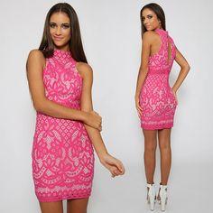 Next Hit Dress - Pink