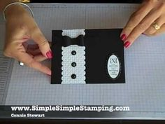 SimpleSimpleStamping.com - FLASH CARDS 2.0 - Tuxedo Wedding Card by Connie Stewart