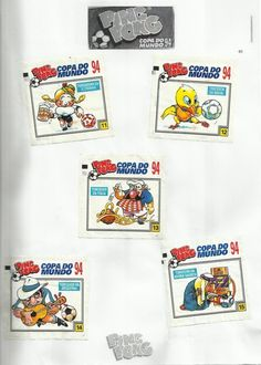 04- Chicle Ping Pong Copa do Mundo 1994