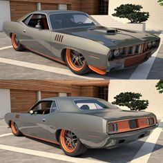 1971 Plymouth Cuda 426 Pro-Touring or Show-Touring?