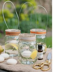 Fill your home with easy-to-make aromatic citrus and herb fragrancers
