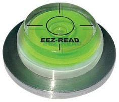 """Momentus EEZ-READ Green Reader with Ball Marker by Momentus. $9.99. The EEZ- READ (pronounced Easy Read) is a high accuracy """"bubble level"""" that will provide a quick reading of the green's contours.  When placed on the green, the EEZ-READ helps you to determine the break on the green, resulting in more putts being made through  the course of a round.. Save 50%!"""