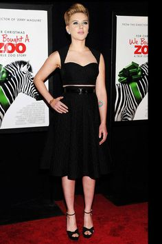 Tendencia Dress for Less Cropped Tops: Scarlett Johansson