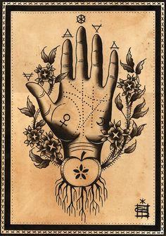 Palmistry symbolism