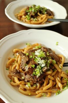 Beef Teriyaki Udon recipe from Epcot's International Flower and Garden Festival
