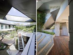Современный дом-сад от Iroje KHM architects