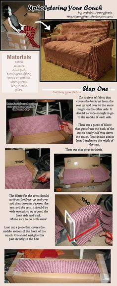 Found another DIY furniture for dolls with cardboard. As I said I personally don't use it. But these ideas are creative. Thinking of having some done in wood. The blonde in the pic.    BJD Couch - Part 1 by pervyfaerie