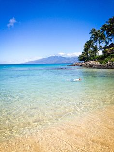 Maui's Napili Bay is one of the most fabulous beaches on the island. A perfect crescent of sand, with snorkeling and sea turtles nearby make it perfect for a day in the sun.