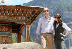 The pretty Royals of the west arrived in Bhutan and met the east glamorous young rulers of Bhutan, the King and Queen of the Dragon Kingdom. Related