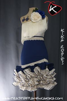 TRAJES DE FLAMENCA KIKA: Faldas y Camisas Spanish Fashion, Ballroom Dress, Dance Dresses, Dance Wear, Ballet Skirt, Plus Size, Couture, Sewing, Crochet