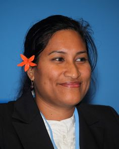 Kahealani Hekau is from the beautiful state of Niue, the Rock Island of Polynesia and the world's largest coral island. Crowned Miss South Pacific in 2004, Kahealani entered the pageant because of her love for performing arts as a medium to bring communities together. Now, she is attending the United Nations climate talks (COP18) in Doha as a member of the Pacific Gender Coalition to raise the participation of community based organisations in policy making. South Pacific, Pacific Ocean, Traditional Names, The Beautiful South, Rock Island, Whale Watching, Doha, Performing Arts, United Nations