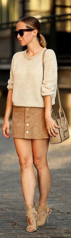 Monochromatic Neutrals / Fashion By Brooklyn Blonde