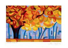 "Daily Paintworks - ""Landscape Study #14"" - Original Fine Art for Sale - © Mandy Budan"