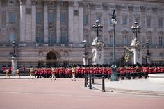 The Trooping of the Colour. - The Trooping of the Colour in London, England.