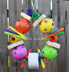 Ball Buddies Shredder Wreath