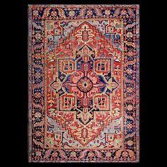Persian Informal -Heriz  Circa: 1930  Color: Red  Origin: Iran  Width: 8' 2'' ( 248.9 cm )  Length: 11' 8'' ( 355.6 cm )Stock Id: #17898
