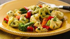 A quick and easy pasta salad, made with Green Giant® mixed vegetables.