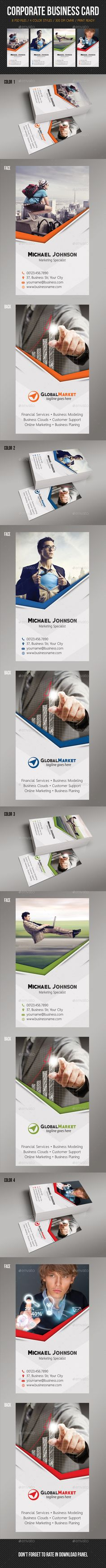 Corporate Business Card Design Tempalte Download: http://graphicriver.net/item/corporate-business-card-13/12943621?ref=ksioks
