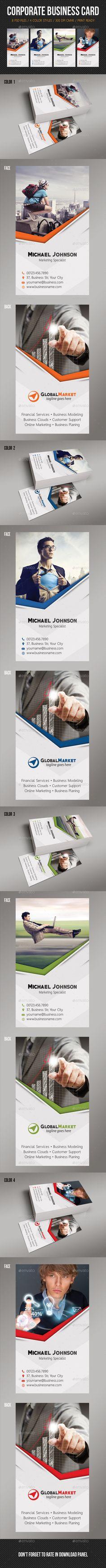 Corporate Business Card Design Tempalte Download: http://graphicriver.net/item/corporate-business-card-13/12943621?ref=ksioks
