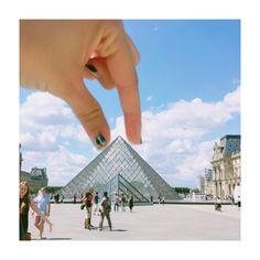 Instagram의 Su Jin An님: 날씨좋고 . . . #파리 #루브르박물관