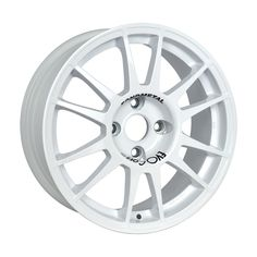 SanremoCorse White is the successful range of wheels realized for being used on tarmac. #WHEELS #MADEINITALY #EVOCORSE #TARMACRALLY #RALLY #WHITE #SANREMOCORSE