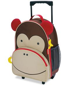 Buy Skip Hop: Zoo Kids Rolling Luggage online and save! Skip Hop: Zoo Kids Rolling Luggage – Monkey Zoo friends roll along for travel fun! Sized perfectly for carry-ons and overnight trips, Zoo luggage is. Kids Rolling Luggage, Rolling Bag, Kids Luggage, Rolling Backpack, Baby Boy, Baby Kids, Dog Baby, Fashion Kids, Mochila Skip Hop