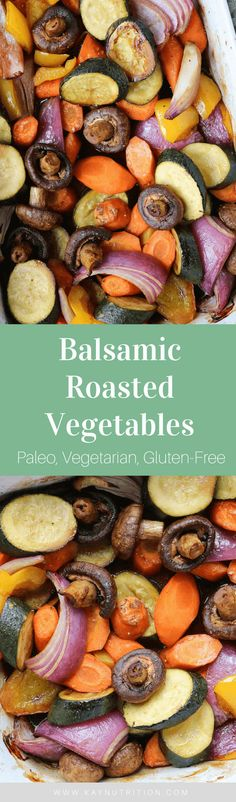 This simple tray bake of Balsamic Roasted Vegetable is a foolproof way to make a big batch of veggies with lots of flavour and minimal effort.