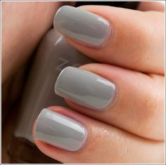 Zoya Intimate Collection Review, Photos, Swatches  Dove is a softened, pale gray with an ever-so-slight tinge of green-teal (at least, on me). I used two coats. It seems like a lighter version of Rescue Beauty Lounge's Concrete Jungle.