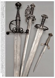Swords And Daggers, Knives And Swords, Medieval Swords, Weapon Concept Art, Arm Armor, Old Tools, Fantasy Weapons, My Precious, Helmets