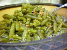 Sweet Green Beans Great, easy mix to help transform regular canned green beans into something super yummy!