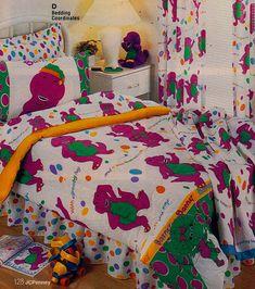 Barney the Dinosaur Sheets and Comforter set Childhood Memories 90s, Childhood Toys, 1990s Kids, Barney The Dinosaurs, 90s Toys, 90s Nostalgia, Tumblr, Ol Days, Sweet Memories