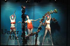 The Bay Under the Sea ... windows visual merchandising